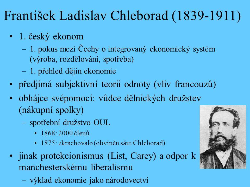 František Ladislav Chleborad (1839-1911)
