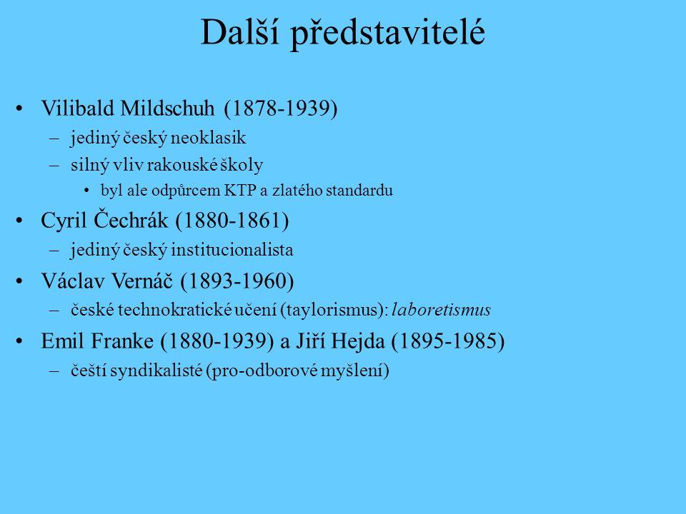 Další představitelé Vilibald Mildschuh (1878-1939)