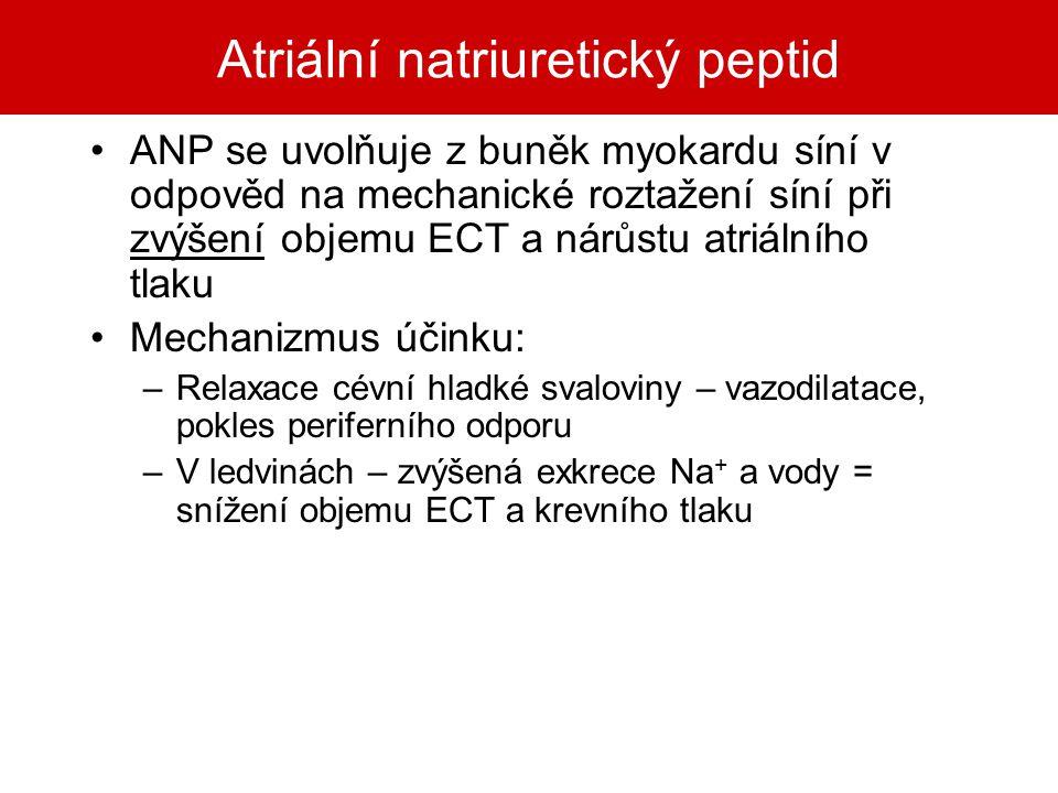 Atriální natriuretický peptid