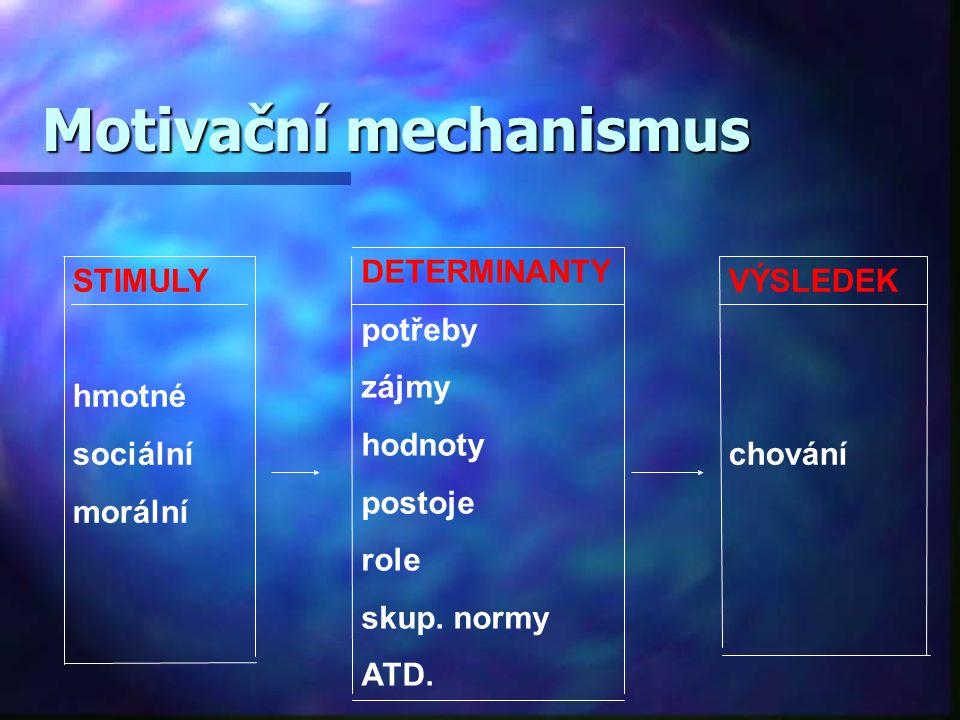 Motivační mechanismus