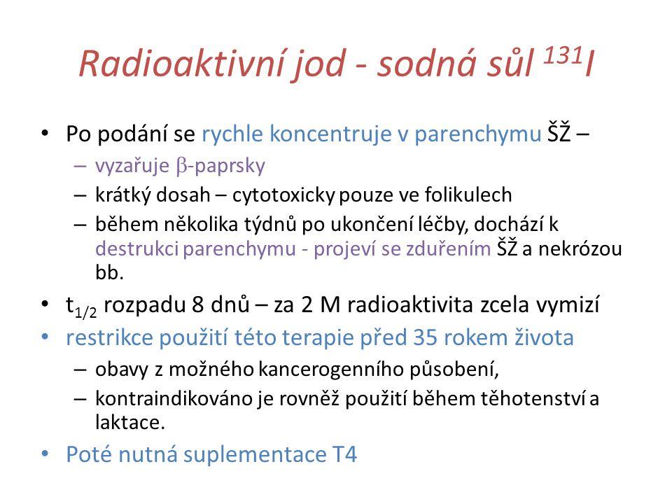 Radioaktivní jod - sodná sůl 131I