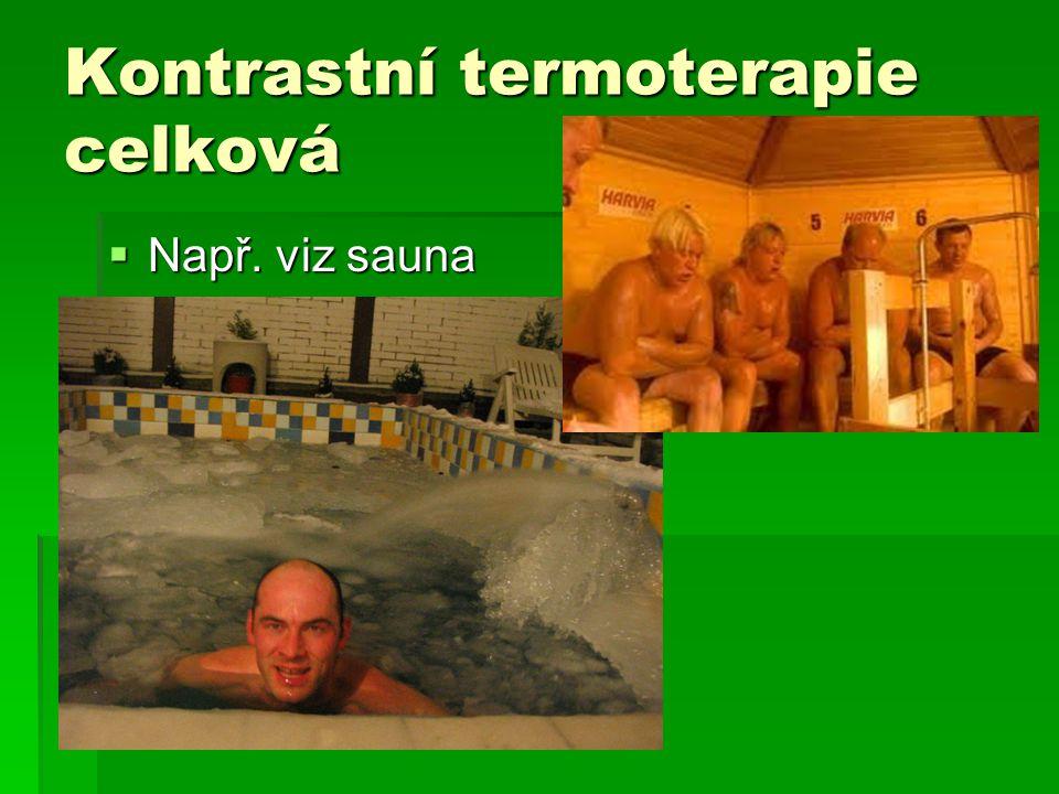 Kontrastní termoterapie celková