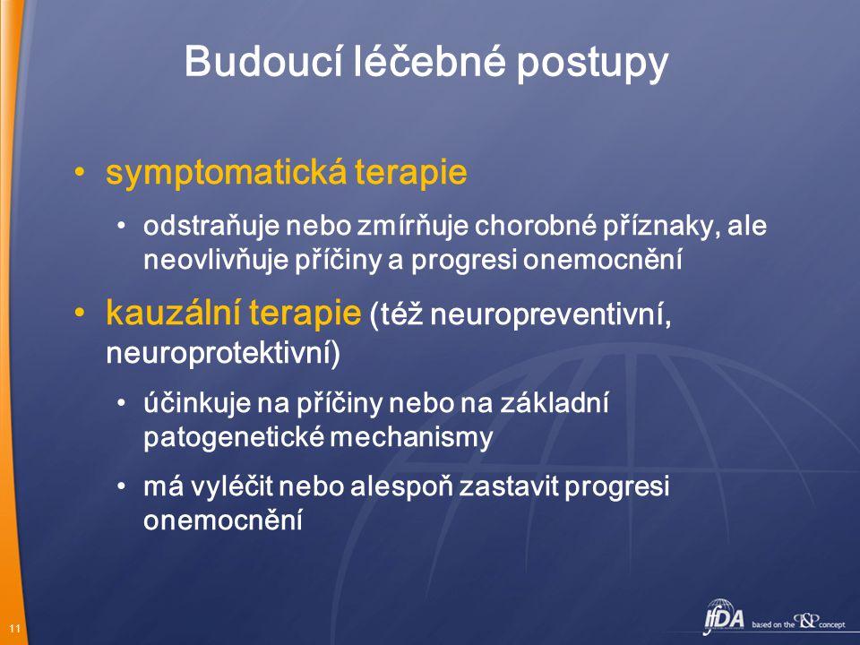 Budoucí léčebné postupy