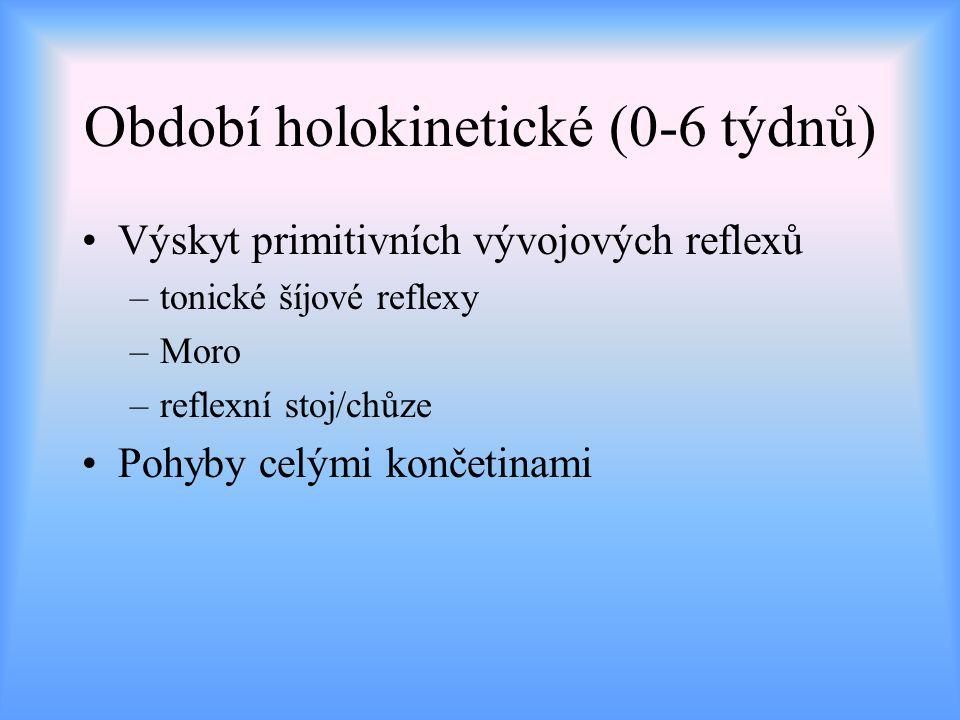 Období holokinetické (0-6 týdnů)