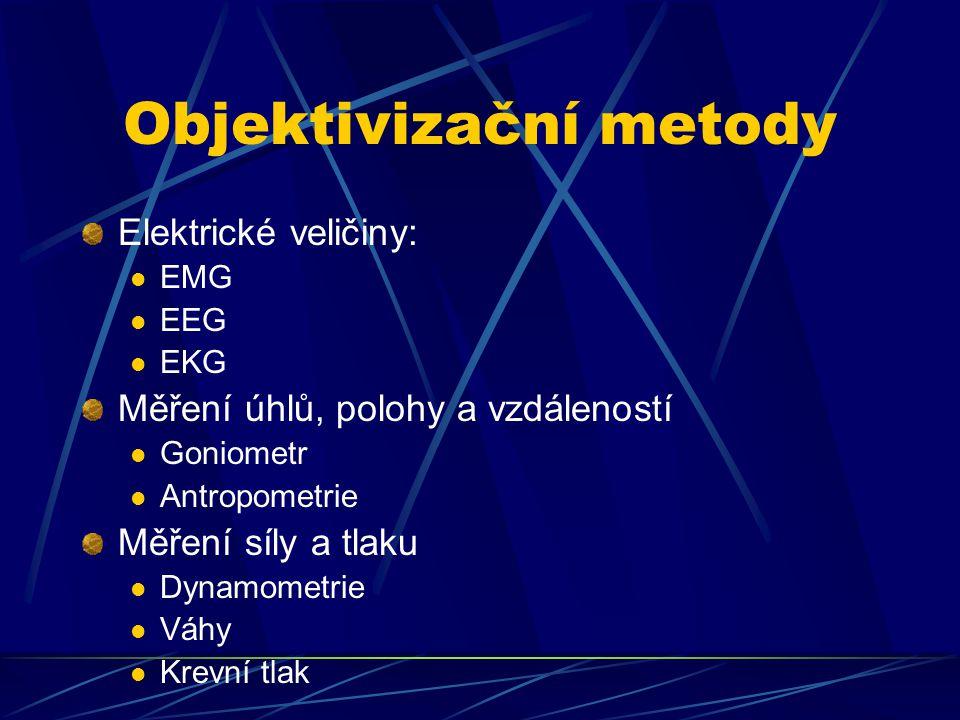 Objektivizační metody