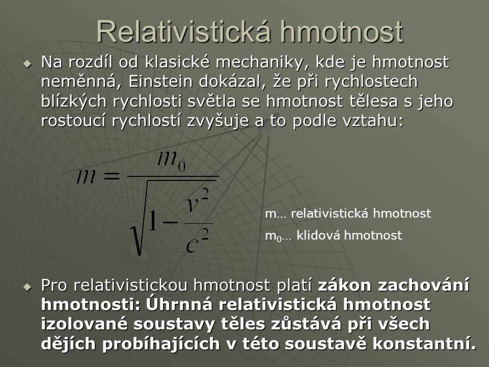 Relativistická hmotnost