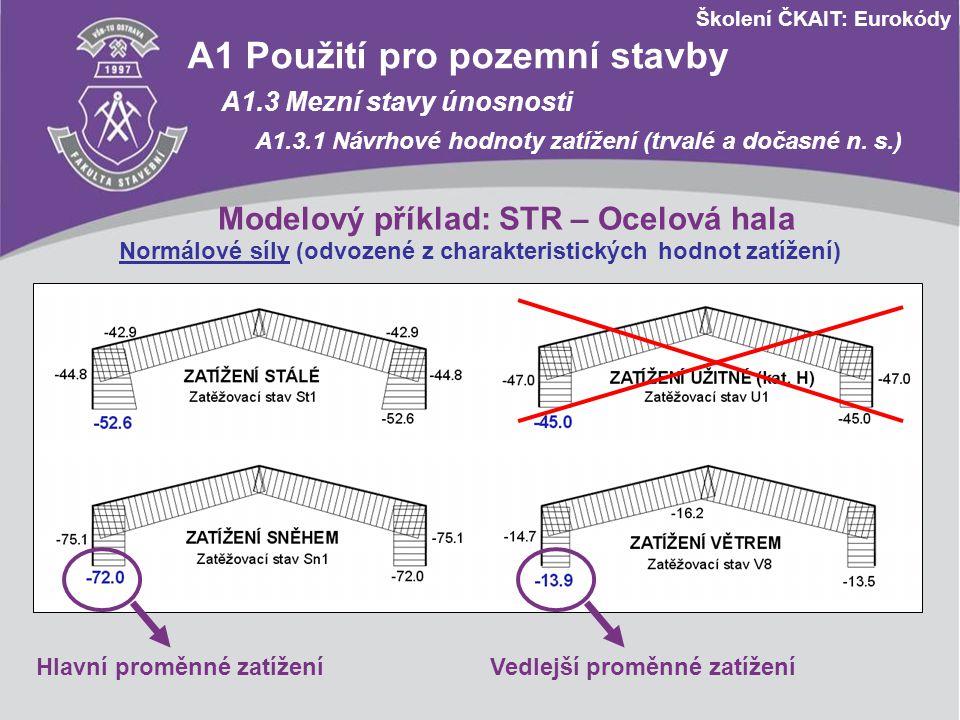 A1 Použití pro pozemní stavby