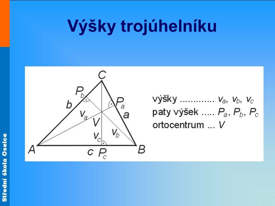 Výšky trojúhelníku