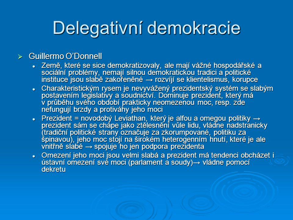 Delegativní demokracie