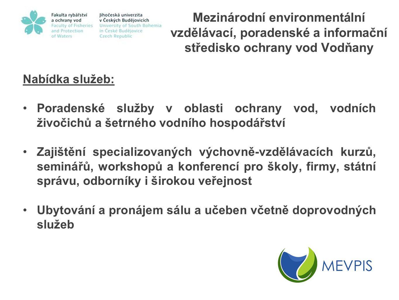 Mezinárodní environmentální vzdělávací, poradenské a informační středisko ochrany vod Vodňany