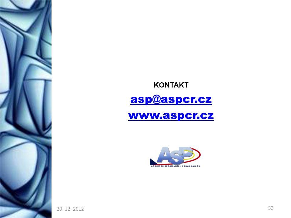 asp@aspcr.cz www.aspcr.cz