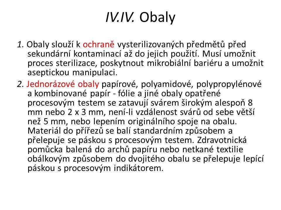 IV.IV. Obaly