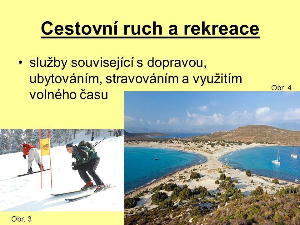 Cestovní ruch a rekreace