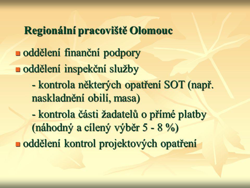 Regionální pracoviště Olomouc