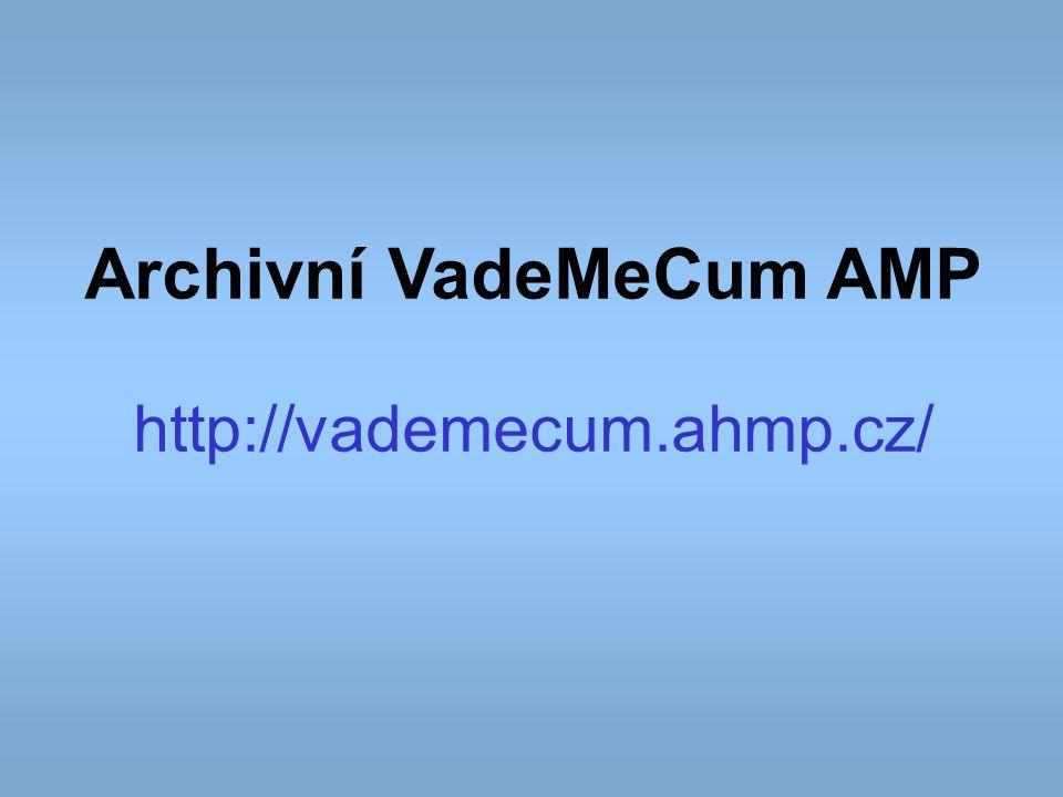 Archivní VadeMeCum AMP