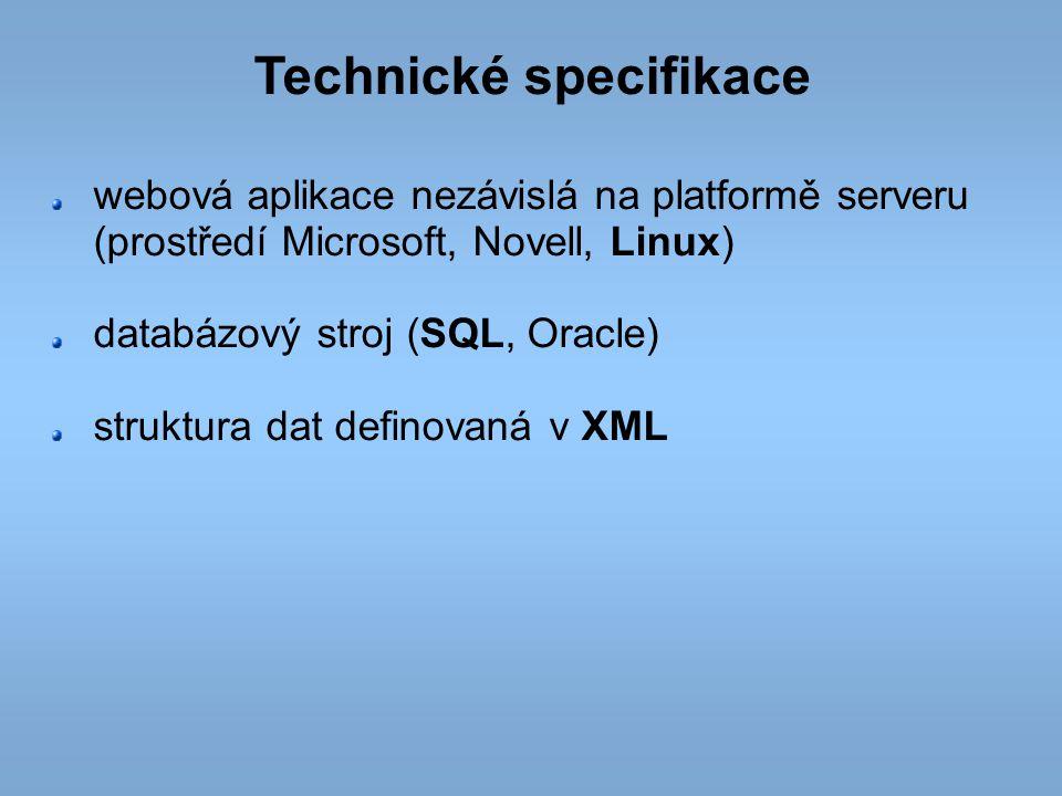 Technické specifikace