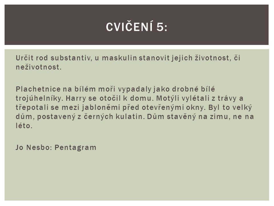 Cvičení 5: