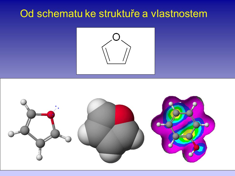 Od schematu ke struktuře a vlastnostem