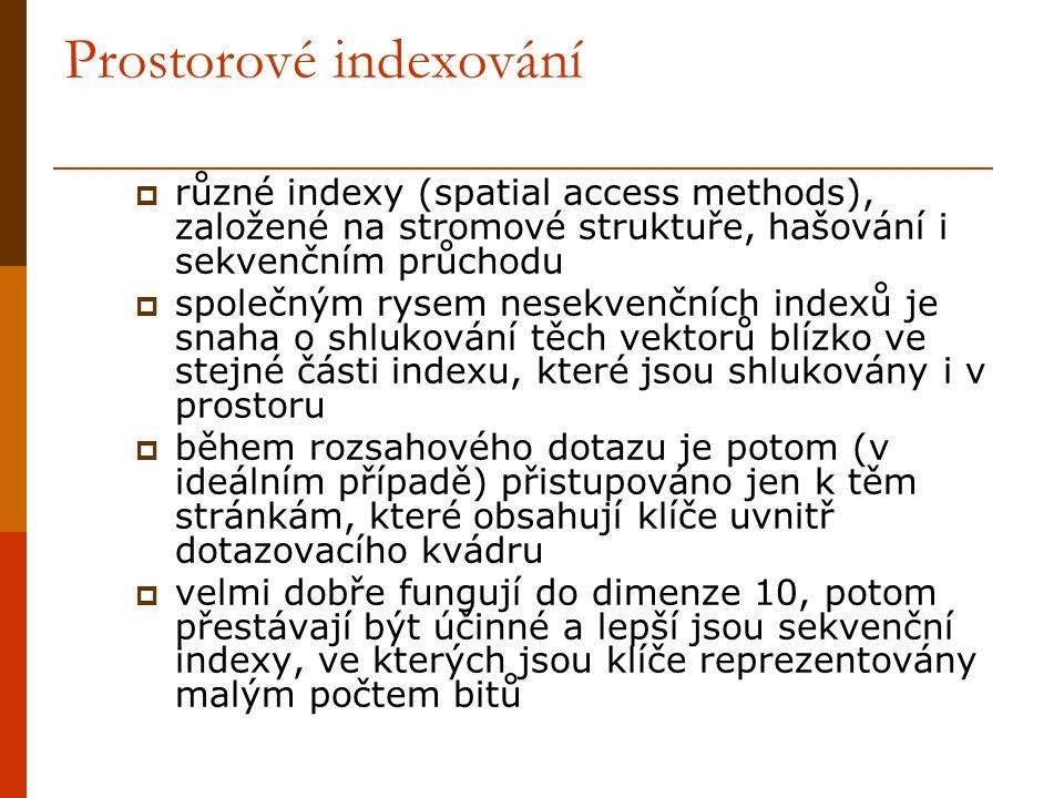 Prostorové indexování