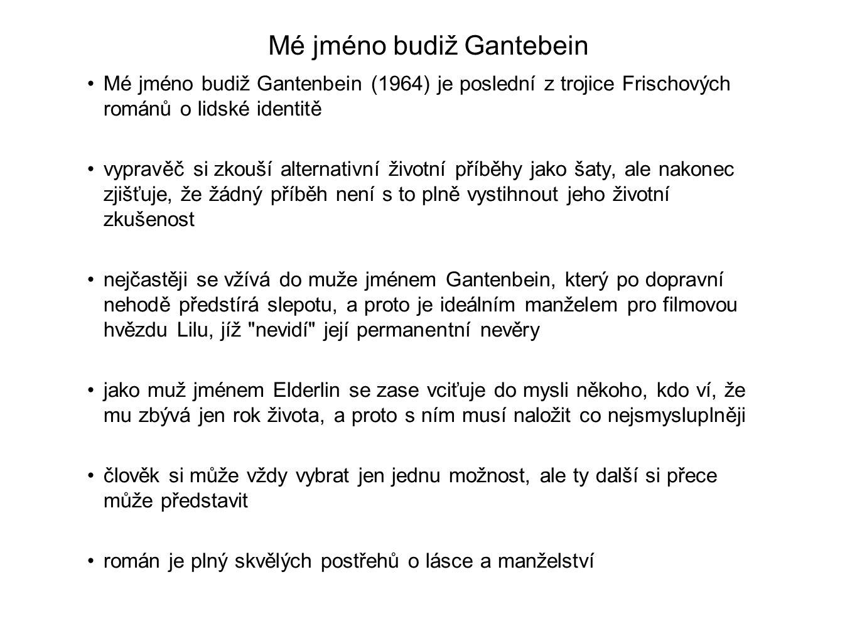 Mé jméno budiž Gantebein