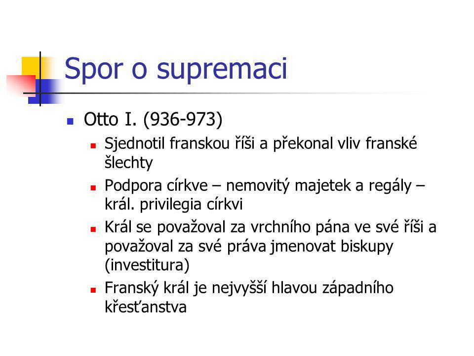 Spor o supremaci Otto I. (936-973)