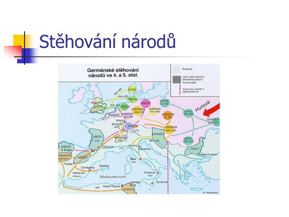 """Stěhování národů Převzato z """"http://www.glouny.cz/dejepis/pravek.html"""
