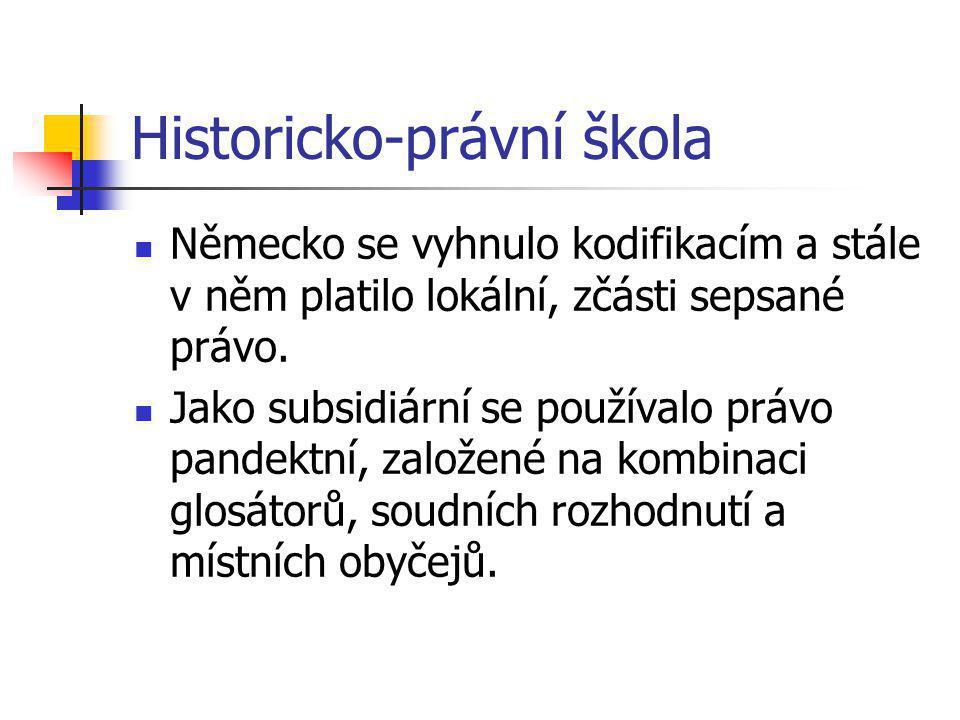 Historicko-právní škola