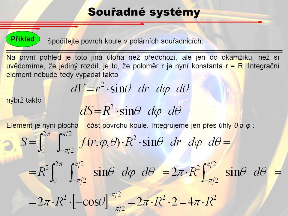 Souřadné systémy Příklad