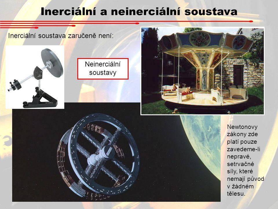 Inerciální a neinerciální soustava