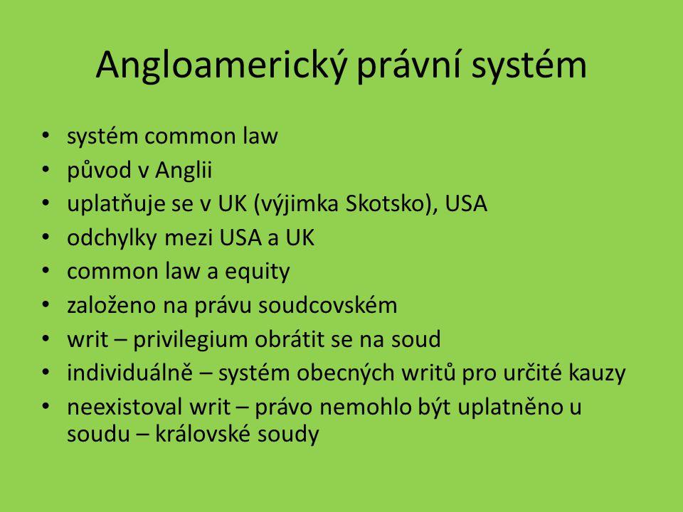 Angloamerický právní systém
