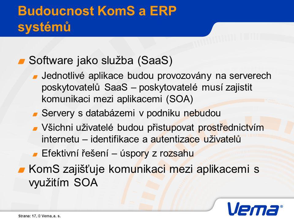Budoucnost KomS a ERP systémů