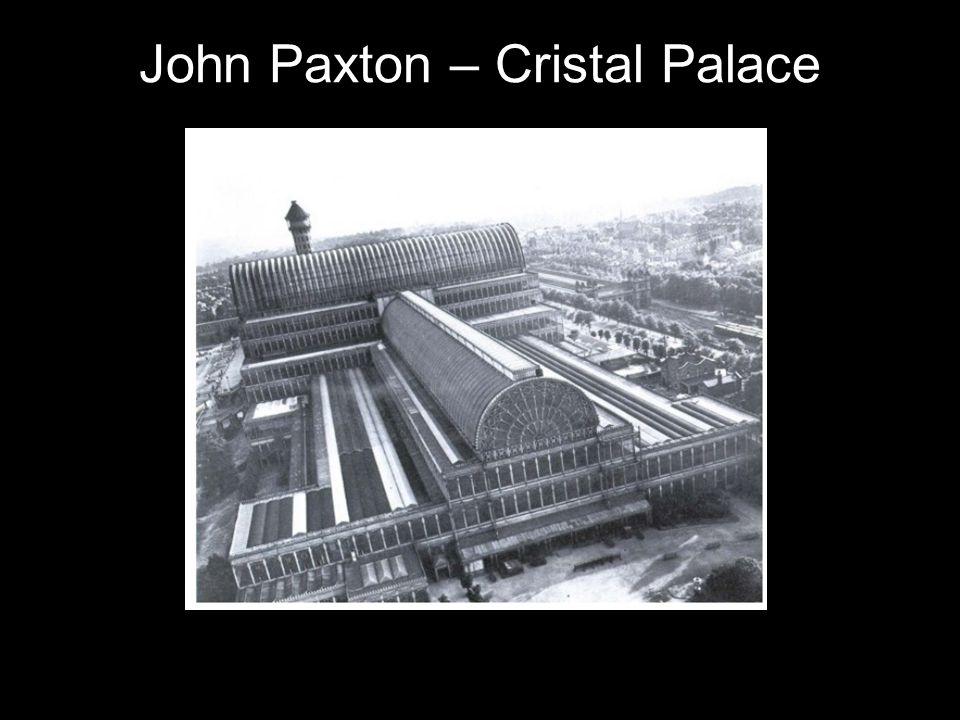 John Paxton – Cristal Palace