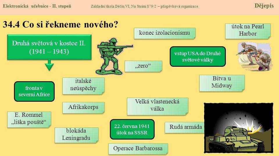 34.4 Co si řekneme nového Druhá světová v kostce II. (1941 – 1943)
