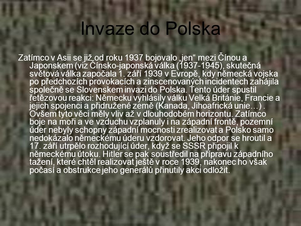 Invaze do Polska