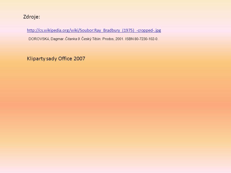 Zdroje: Kliparty sady Office 2007