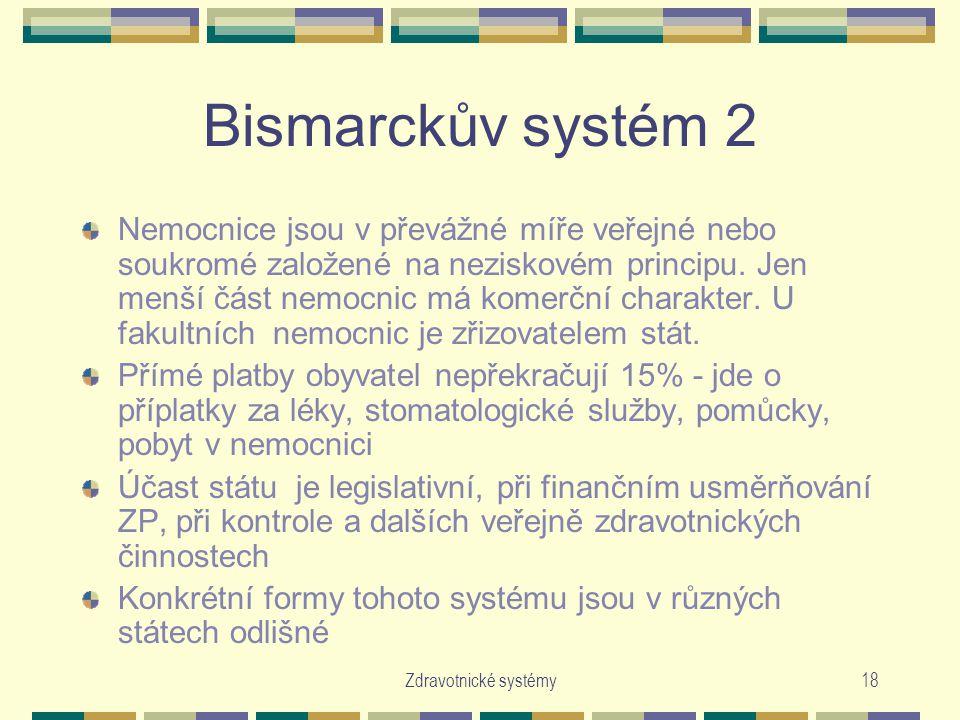 Bismarckův systém 2
