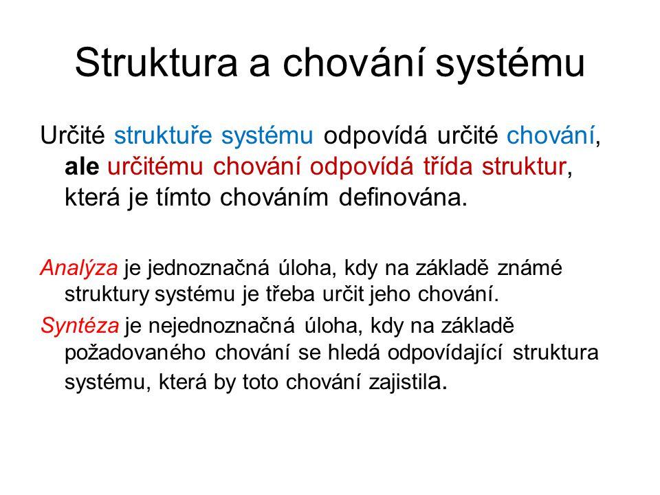 Struktura a chování systému