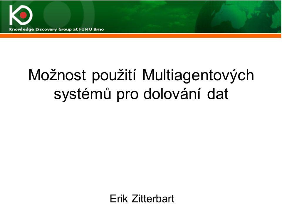 Možnost použití Multiagentových systémů pro dolování dat