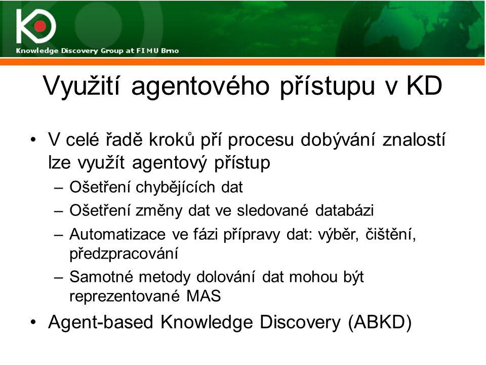 Využití agentového přístupu v KD