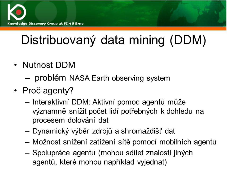 Distribuovaný data mining (DDM)