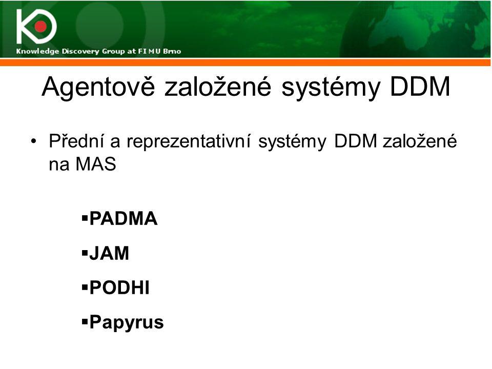 Agentově založené systémy DDM