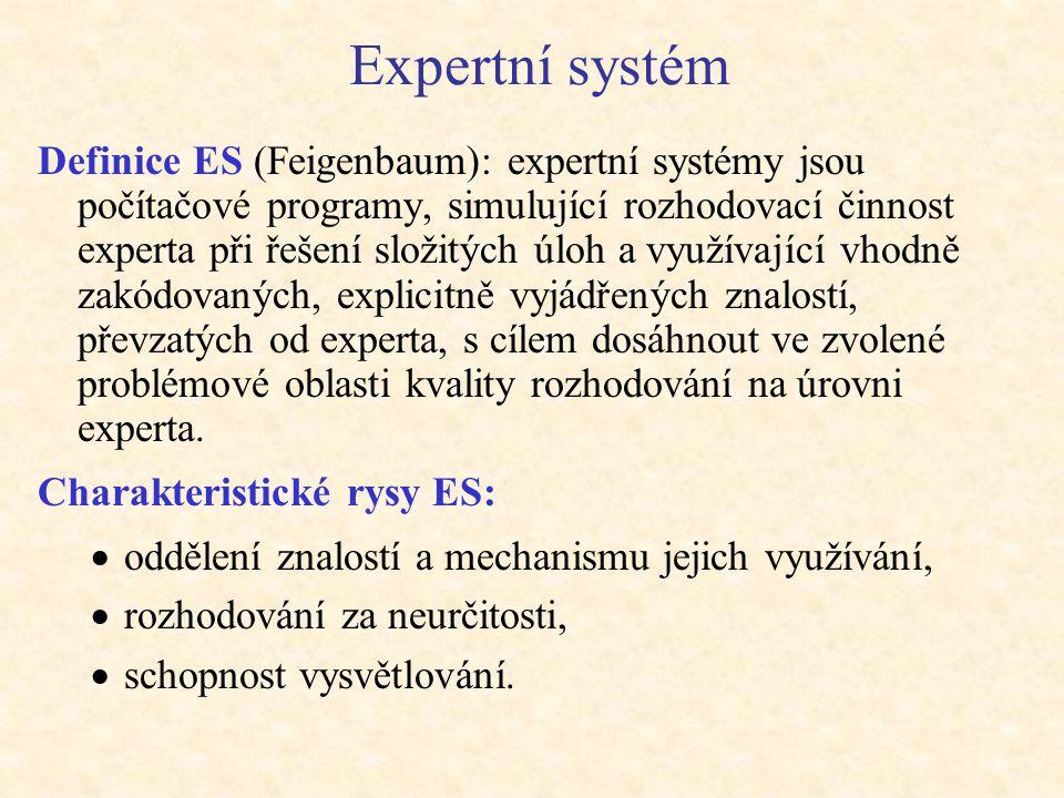 Expertní systém