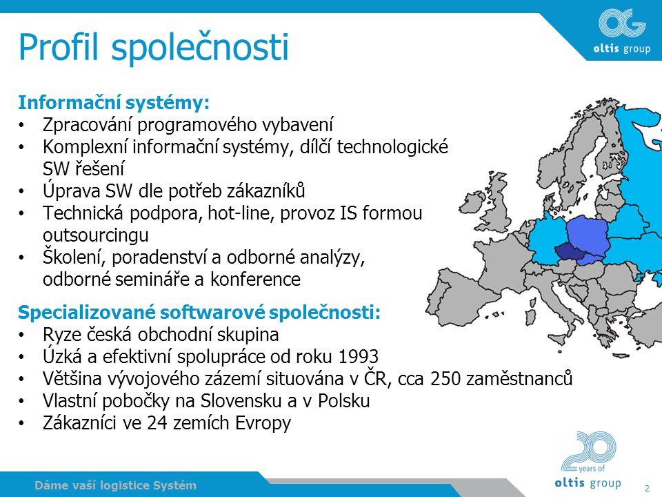 Profil společnosti Informační systémy: