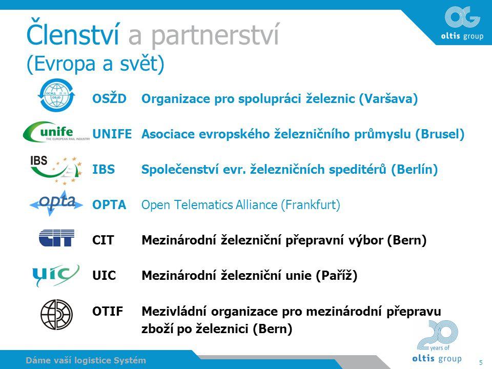 Členství a partnerství (Evropa a svět)