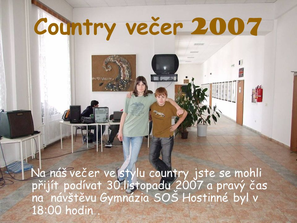 Country večer 2007