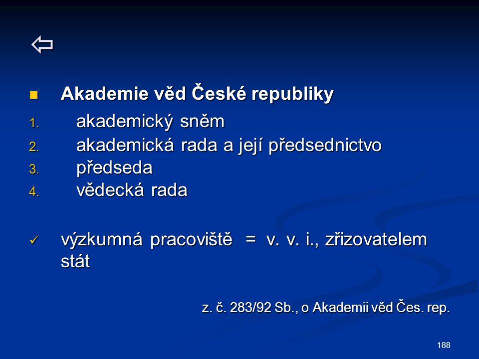  Akademie věd České republiky akademický sněm