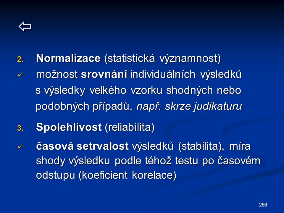  Normalizace (statistická významnost)