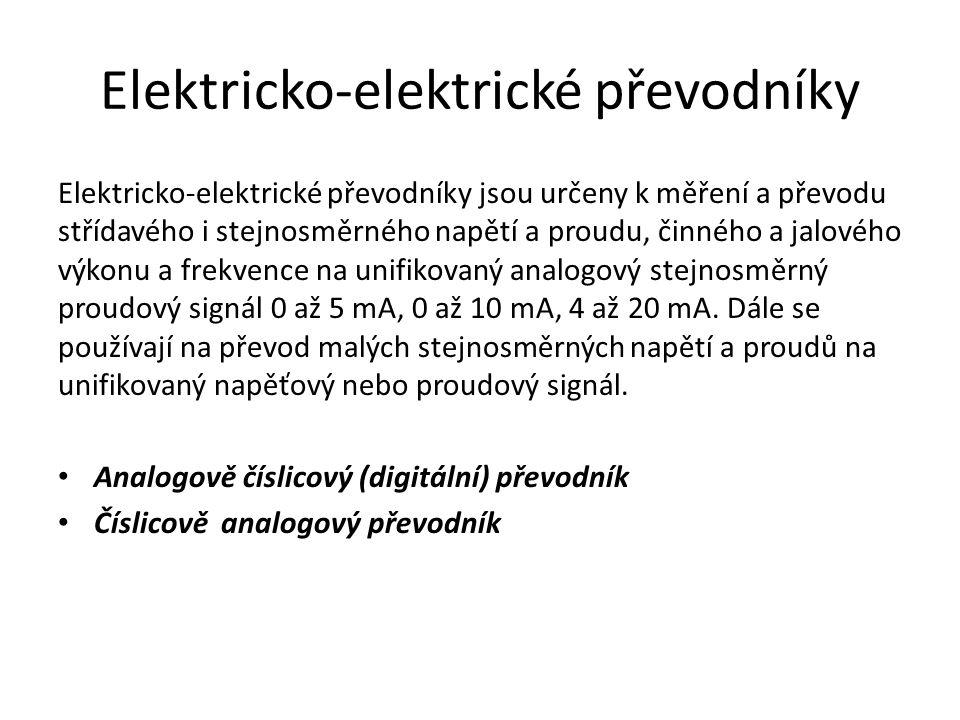 Elektricko-elektrické převodníky