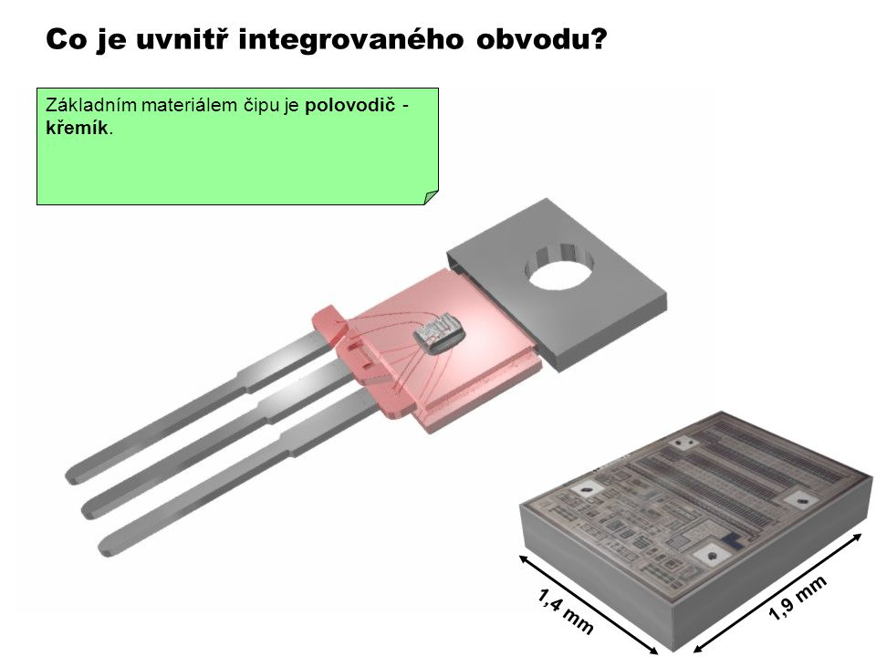 Co je uvnitř integrovaného obvodu