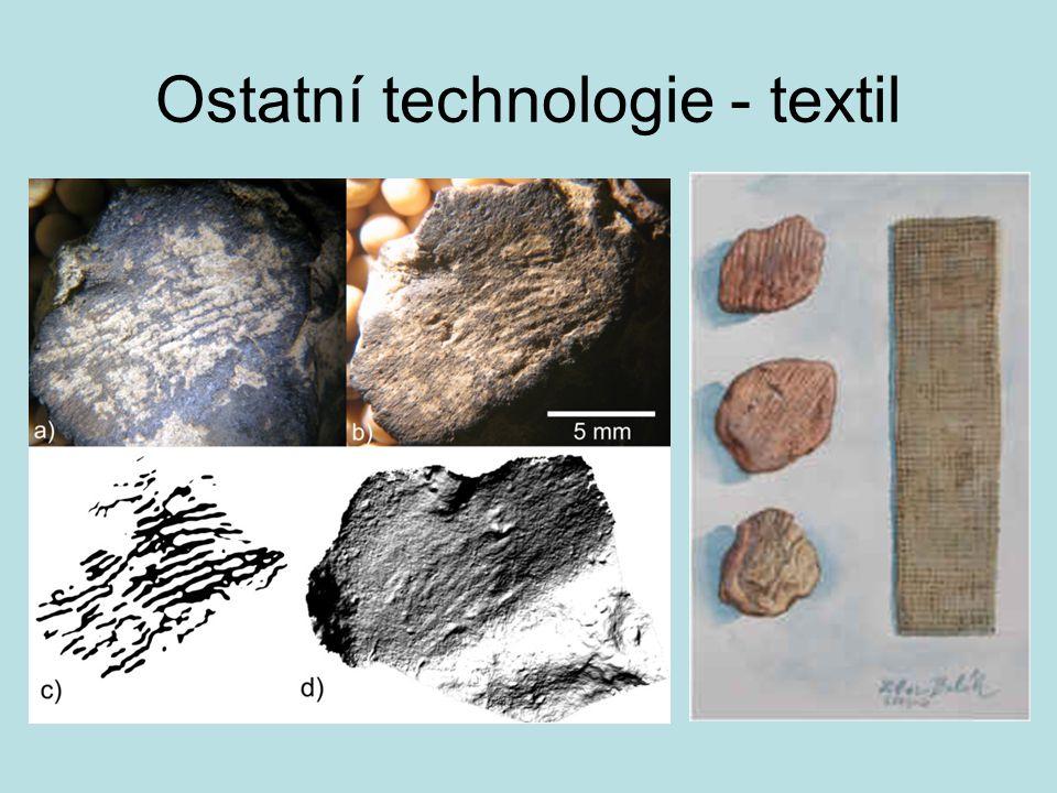 Ostatní technologie - textil